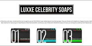 LUXXE CELEBRITY SOAPS