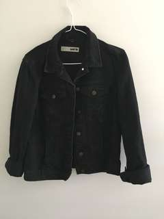 Topshop Black denim jacket