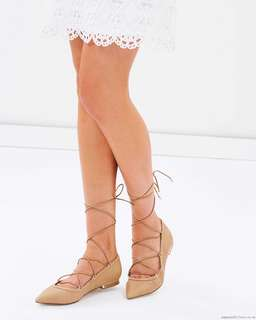 Also Alize Flats Size 7 Nude