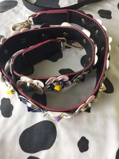 Fendi inspired bag strap