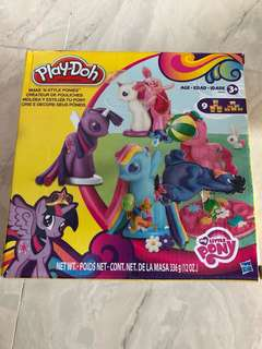 Play Dough Set-My little pony