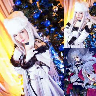 TYPEMOON Irisviel Von Einzbern winter cosplay costume