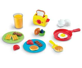 Learning Resources Pretend Play Rise and Shine Breakfast toy