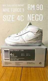 Air Force 1 baby bootie