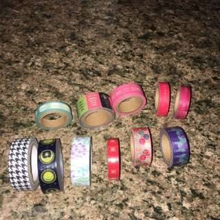 WASHI TAPE/DECORATIVE TAPE BUNDLE