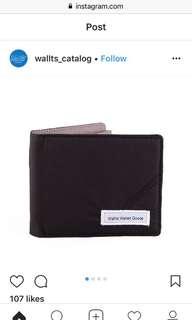 Dompet Wallts Wallet Goods: Portland Black