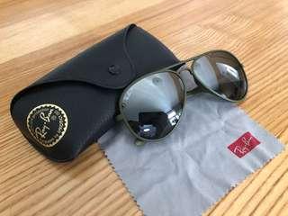 Ray Ban 太陽眼鏡 軍綠色 超輕