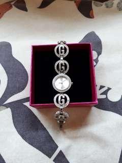 Jam tangan wanita merek Guess. Ori. (Preloved)