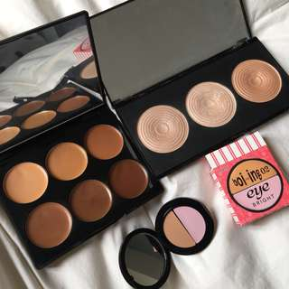 SLEEK, BENEFIT & MAKEUP REVOLUTION