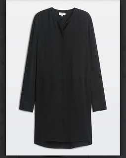 Aritzia Wilfred Bossut Dress Medium Black
