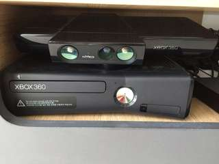 Preloved Xbox 360 Kinect console