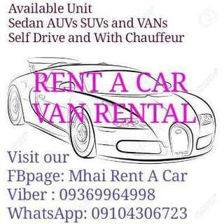 Rent a car and Van Rental