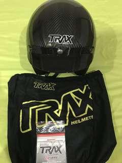 Trax Carbon Fibre Helmet (L)