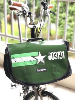 Flap (Army) for Brompton S bag
