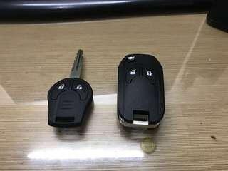 Nissan Navara NP300 flip key blank case