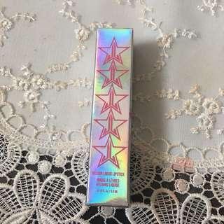 Jeffree Star velour lipstick in human nature