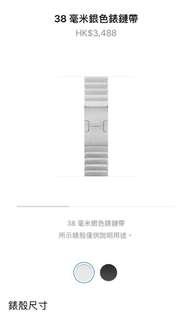 Apple Watch 不銹鋼錶帶