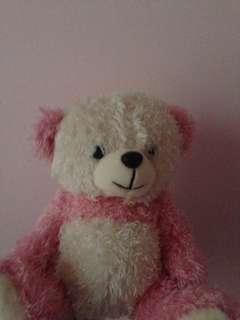 Pink teddy bear for kids & babies