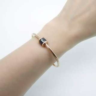 rose gold plated stainless steel bangle 鍍玫瑰金不銹鋼手厄