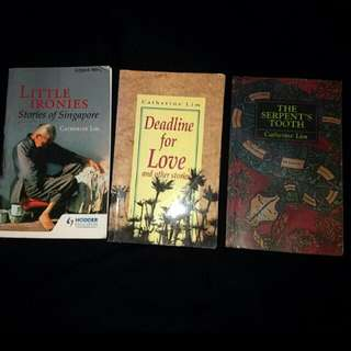 3 Catherine Lim books