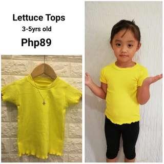 Lettuce Tops (Plain)