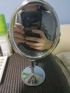 Compact Stainless Steel Mirror