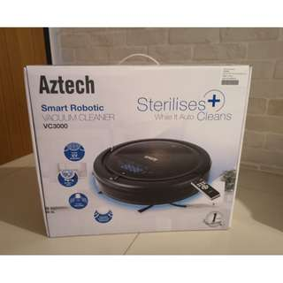 BNIB Aztech Smart Robotic Vacuum Cleaner VC3000