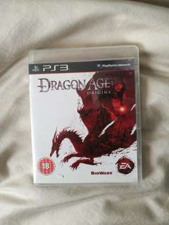 CASE ONLY  Dragon Age: Origins PS3