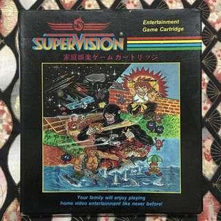 Rare Nintendo NES Rambo (IKARI) Supervision Catridge Video Game Made Japan
