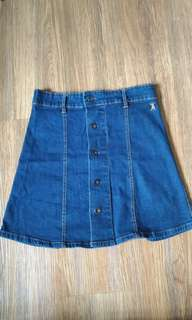 Shana Denim Skirt