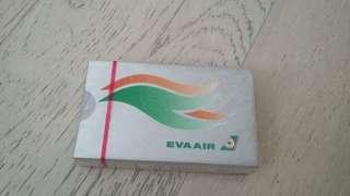 全新未開封長榮航空Eva Air 啤牌 play card 樸克 (a)