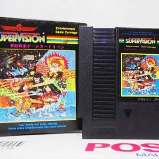 Supervision Catridge KARNOV Nintendo ( Nes ) Retro Video Games Made in Japan