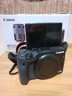 Canon EOS M3 with EF-M15-55mm