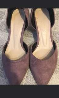 韓國 女裝尖頭鞋 低跟 size240/38