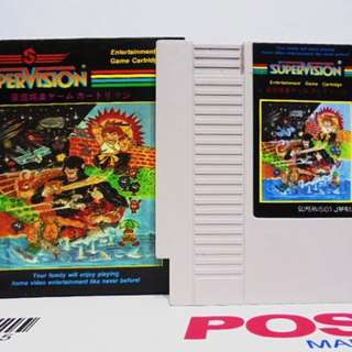 Supervision Catridge SOCCER Nintendo ( Nes ) Retro Video Games Made in Japan