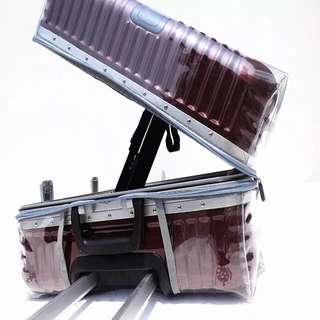 20吋行李箱 免脫箱透明膠套