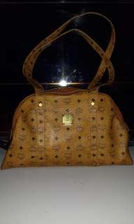 Mcm long handle bag