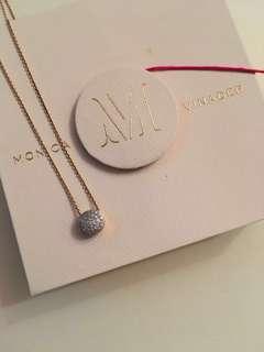 Monica Vinader diamond necklace