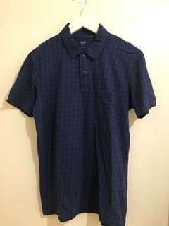 (USED ONCE) Pique Short Sleeved Polo Shirt