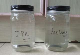 Acetone / Isopropyl alcohol (IPA)