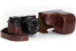 Leather Case for Sony A6000