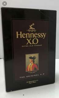 old Hennessy xo 1000ml box, 每個