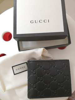 Gucci銀包wallet