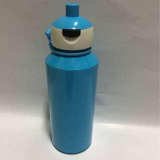 Blue Water Bottle Plastic