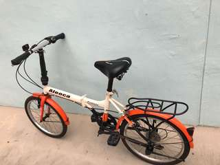 "20"" ALEOCA Foldable Bicycle ( Shimano Equipment)"