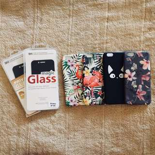 Iphone 6 case with FREE Privacy Tempered Glass