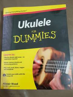 ★pre-loved★ Ukulele for dummies book