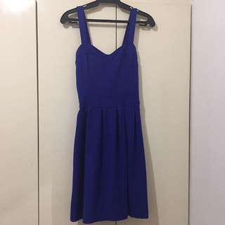 Royal Blue Dress | M