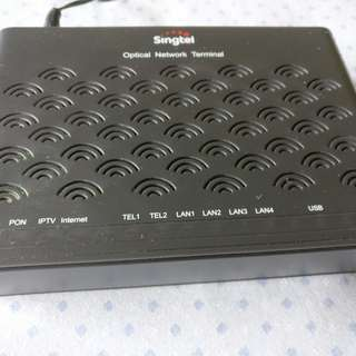 Singtel Optical Network Terminal
