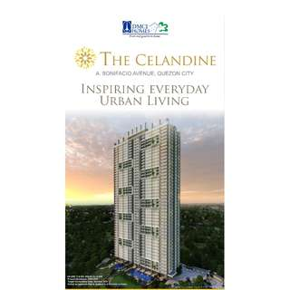 "Pre selling condominium alert!!! THE CELANDINE located at A. Boniofacio Ave., Quezon City ""good investment for the future"" offers No Spot Down Payment @ 0% Interest!!!!"